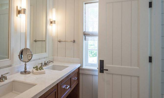 Craftsman Style Bathroom Cottage Laura Hay