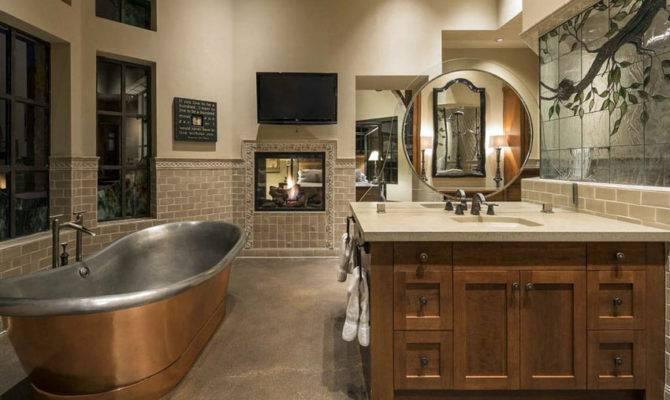 Craftsman Style Bathroom Designs Vanity Tile