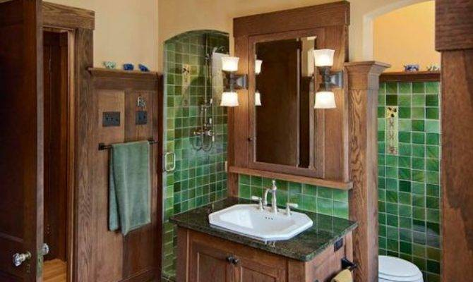 Craftsman Style Bathroom Ideas Remodel Decor