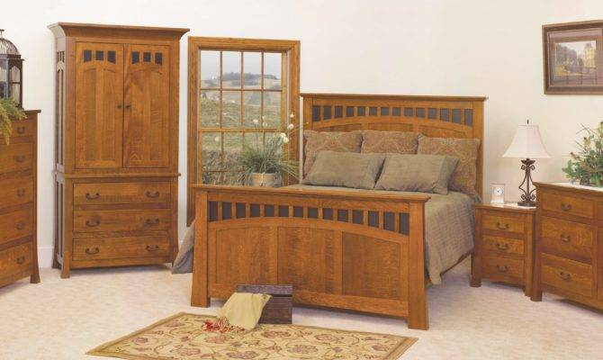 Craftsman Style Bed Home Design