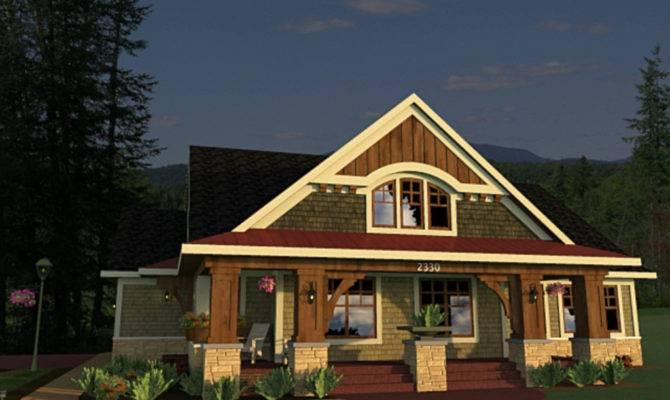 Craftsman Style Bungalow Design Elevation Home Decor