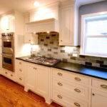 Craftsman Style Cabinets Oak Hardwood Flooring