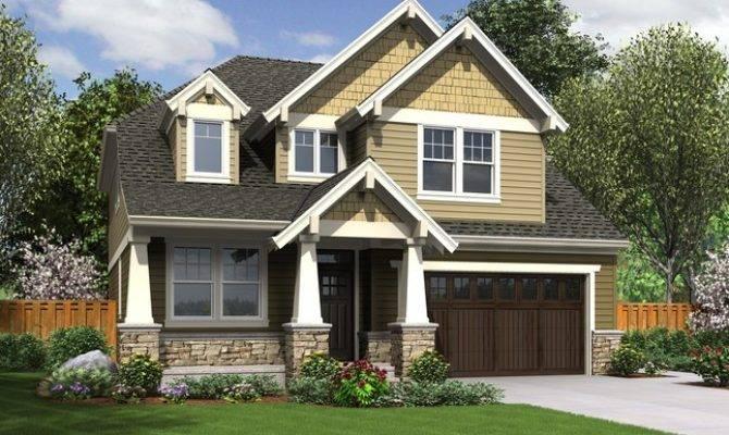 Craftsman Style Cottage House Plan Week Morecambe