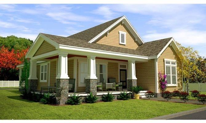 Craftsman Style Cottage Wrap Around Porch Zoom Reverse