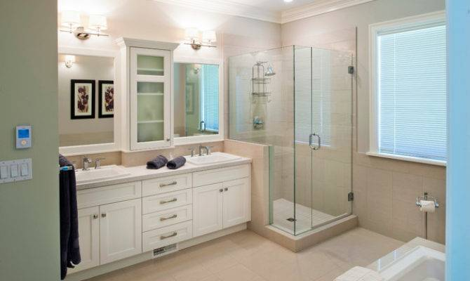 Craftsman Style Custom Home Traditional Bathroom