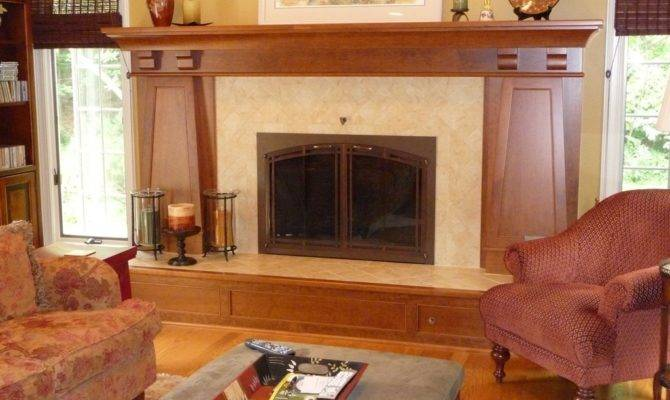 Craftsman Style Fireplaces Mission Fireplace
