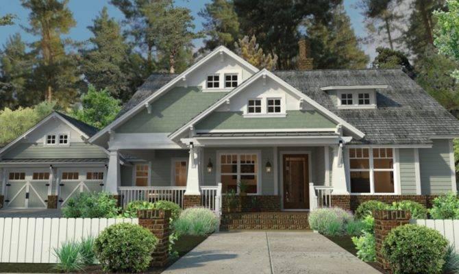 Craftsman Style House Plans Porches