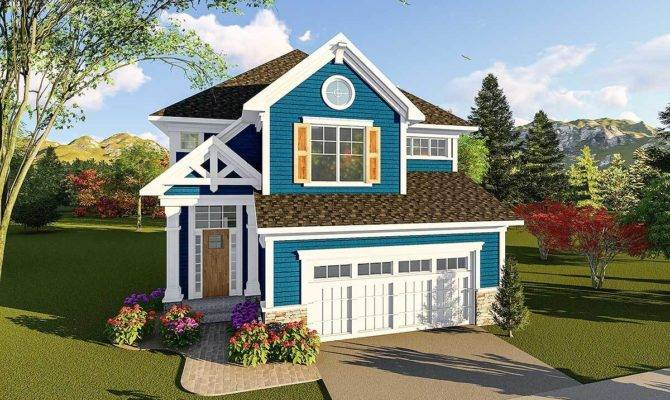 Craftsman Two Story House Plan Architectural