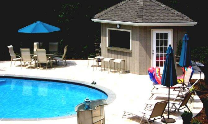 Create Modern Pool Cabana Floor Plans Goodhomez