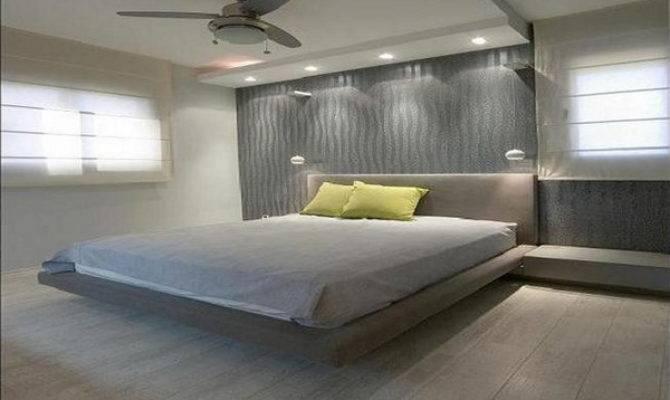 Creating Modern Bedroom Designs Floating Bed Home