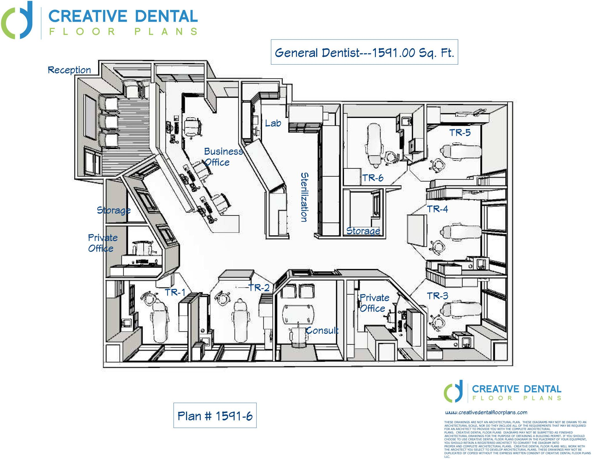 Creative Dental Floor Plans Strip Mall House Plans 135052