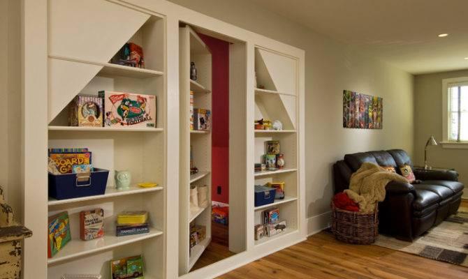 Creative Hidden Room Ideas Storage