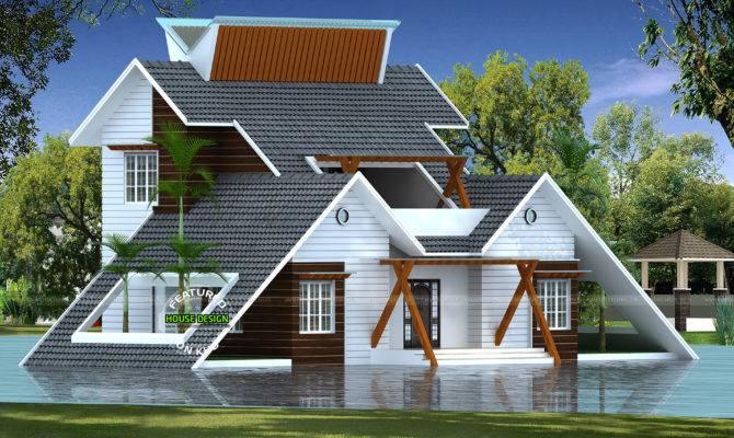 Creative Home Architectural Design Kerala