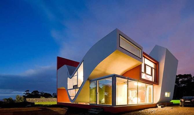 Creative House Design Concrete Life
