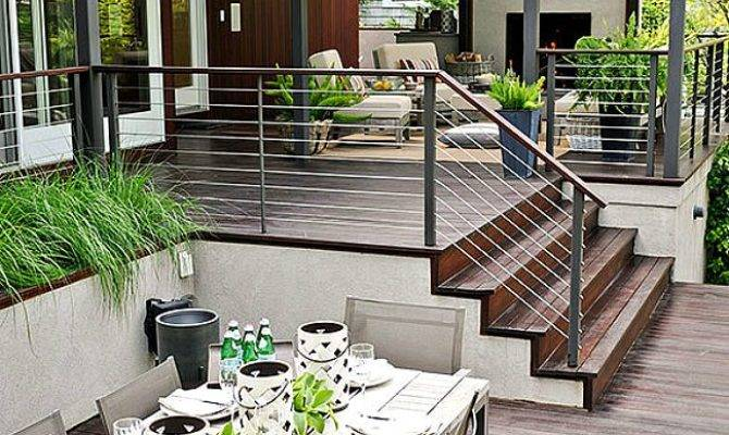 Creative Porch Railing Ideas Your House Midcityeast