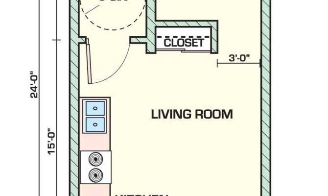 Creative Small Studio Apartment Floor Plans Designs