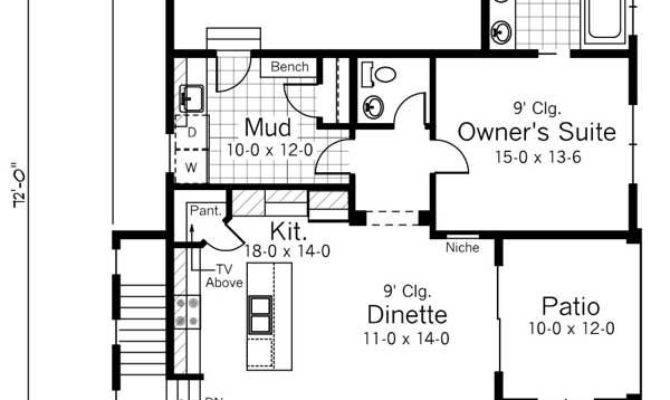 Creativity Flexibility Define Narrow Lot House Plan Styles