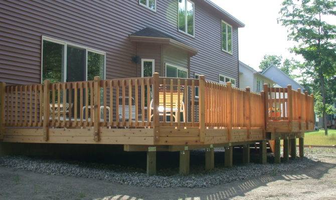 Current Deck Facelift Stripping Off Old Decking Railings