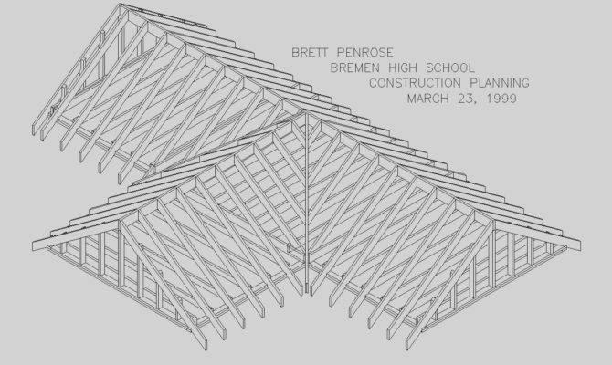 Curtis Pdf Plans Gable Roof Framing