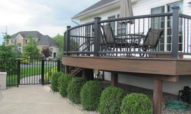 Curved Deck Designs Contractor Amazing Decks