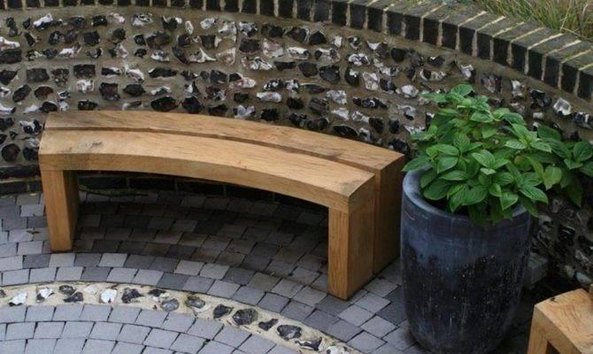 Curved Garden Bench Plans Landscaping Gardening Ideas