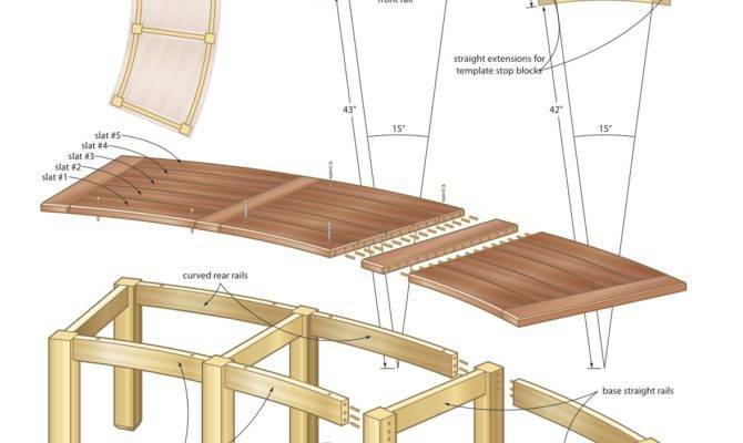 Curved Wood Bench Plans Woodworktips