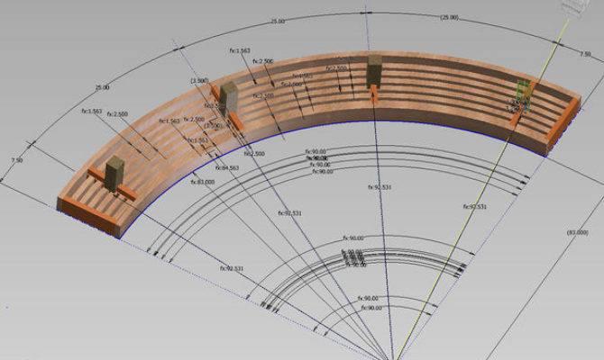 Curved Wooden Garden Bench Plans Woodworktips