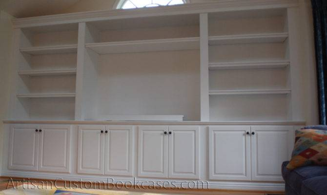 Custom Built Bookcases Artisan