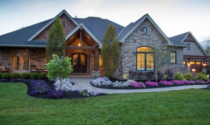 Custom Built Homes Rustic Exterior Other