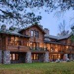 Custom Cedar Log Homes Luxury Cottage Floor Plans Architectural Design