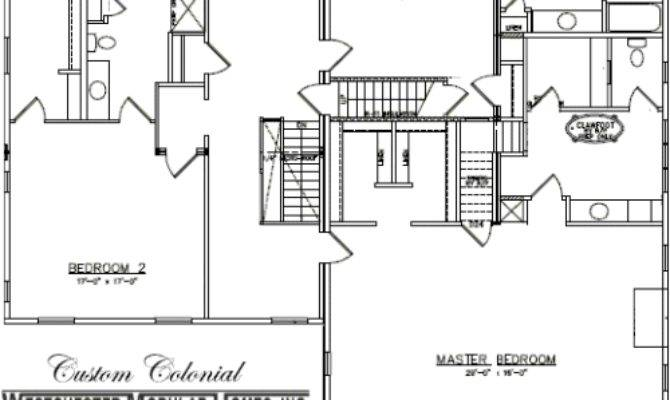 Custom Colonial Westchester Modular Homes Two Story