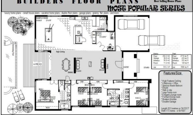Custom Golf Course Homes Floor Plans Over House