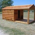 Custom Heated Insulated Dog House Cedar