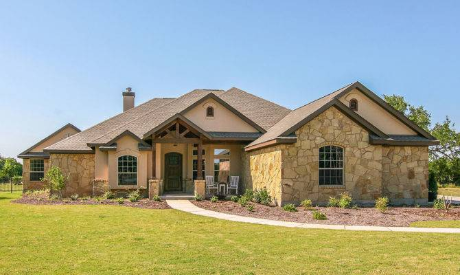Custom Hill Country Ranch House Plan