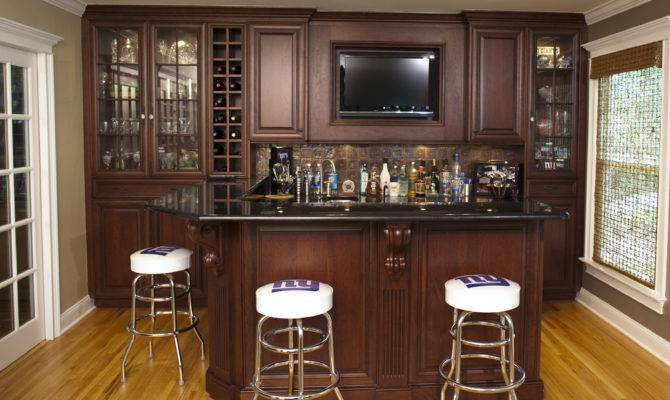 Custom Home Bars Design Line Kitchens Sea Girt