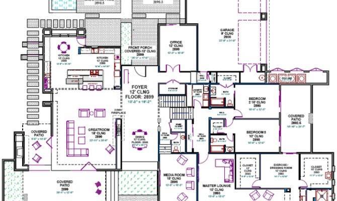 Custom Home Design Examples Contemporary