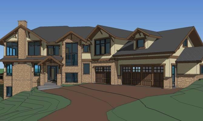 Custom Home Designs Plans
