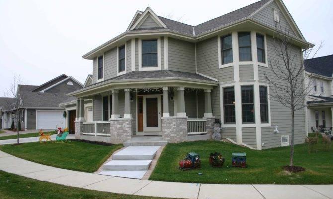 Custom Homes Wisconsin Corner Lot Design Lemel