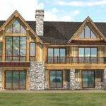 Custom Log Home Timber Frame Hybrid Floor Plans Wisconsin