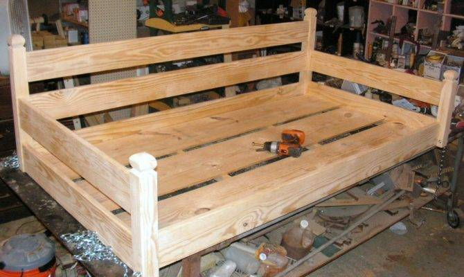 Custom Ordered Swing Bed Built Last Lumberjocks