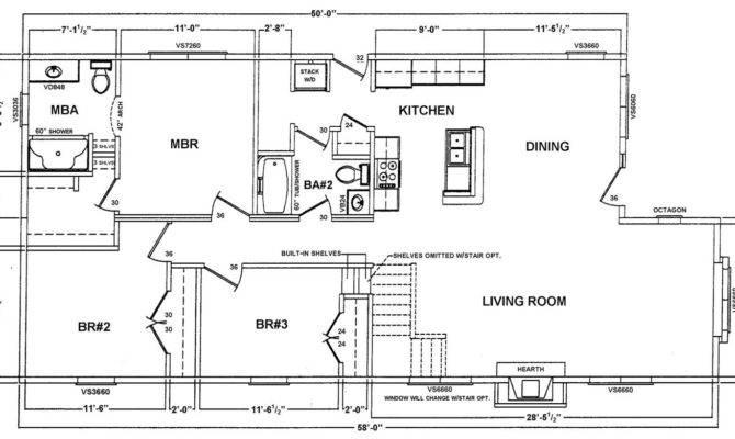 Custom Ranch Floor Plan