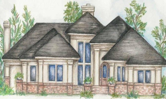 Custom Single Story Home Plans One Luxury