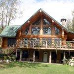 Custom Square Foot Log Home American Dream