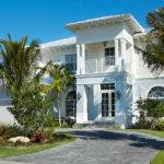 Custom Story British West Indies Style Home Del Ray Beach