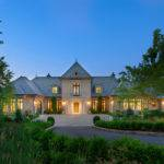 Custom Traditional Homes French Country Manor Style