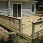Custom Treated Deck Design Briar Street Builders