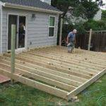 Custom Treated Deck Design Briar Street Builders