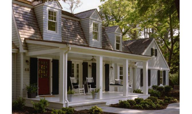 Custom Vacation Homes Dutch Colonial Shingle Style