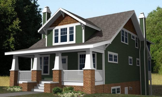 Cute Craftsman Cottage House Plans Plan