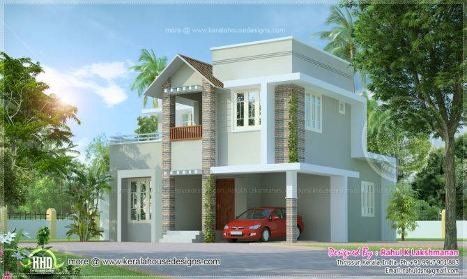 Cute House Design Designed Rahul Lakshmanan